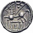 Photo numismatique  ARCHIVES VENTE 2016-19 oct GAULE - CELTES ELUSATES (région du Gers)  312- Drachme, (120-52).