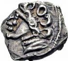 Photo numismatique  ARCHIVES VENTE 2016-19 oct GAULE - CELTES RUTENES (région du Tarn et de l'Hérault)  315- Drachme «  au sanglier », (IIème et Ier siècle).