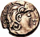 Photo numismatique  ARCHIVES VENTE 2016-19 oct GAULE - CELTES LEMOVICES (région de Limoges)  318- Statère d'électrum, (Ier siècle avant J.C.).
