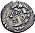Photo numismatique  ARCHIVES VENTE 2016-19 oct GAULE - CELTES EDUENS (région de la Bourgogne et du Nivernais)  321- Quinaire au nom de Diasulos, (60-50).