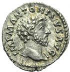 Photo numismatique  MONNAIES EMPIRE ROMAIN MARC AURELE  (César 139-161 - Auguste 161-180)  Denier.