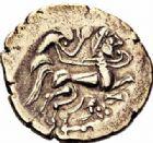 Photo numismatique  ARCHIVES VENTE 2016-19 oct IBERIE- GAULE - CELTES VÉNÉTES-NAMNÉTES (Région de Nantes)  328- Statère d'or, (fin du IIème s.-1ère moitié du Ier s.).