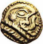 Photo numismatique  ARCHIVES VENTE 2016-19 oct GAULE - CELTES OUEST DU BELGIUM - BELLOVAQUES  335- Statère d'or, (vers 60-30/25).