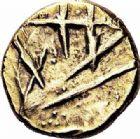 Photo numismatique  ARCHIVES VENTE 2016-19 oct IBERIE- GAULE - CELTES OUEST DU BELGIUM  337- Quart de statère d'or, (IIème siècle avant J.C.).