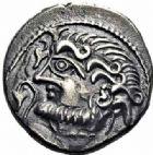 Photo numismatique  ARCHIVES VENTE 2016-19 oct GAULE - CELTES SUESSIONES (région de Soissons)  341- Drachme au nom de Criciru.