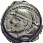 Photo numismatique  ARCHIVES VENTE 2016-19 oct IBERIE- GAULE - CELTES SUESSIONES (région de Soissons)  342- Bronze au nom de Criciru.