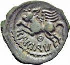 Photo numismatique  ARCHIVES VENTE 2016-19 oct GAULE - CELTES SUESSIONES (région de Soissons)  342- Bronze au nom de Criciru.