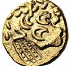 Photo numismatique  ARCHIVES VENTE 2016-19 oct IBERIE- GAULE - CELTES AMBIANI (Bassin de la Somme)  347- Statère d'or, (fin du IIème siècle-Guerre des Gaule).