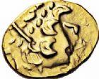 Photo numismatique  ARCHIVES VENTE 2016-19 oct IBERIE- GAULE - CELTES AMBIANI (Bassin de la Somme)  348- Statère d'or, (fin du IIème siècle-Guerre des Gaule).