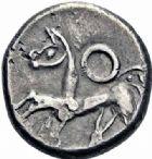 Photo numismatique  ARCHIVES VENTE 2016-19 oct IBERIE- GAULE - CELTES CELTES DU DANUBE de l'EST Noricum 351 - Tétradrachme, (IIème et Ier s. avant JC.). 351- Tétradrachme, (IIème et Ier s. avant JC.).