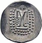 Photo numismatique  ARCHIVES VENTE 2016-19 oct IBERIE- GAULE - CELTES CELTES DU DANUBE de l'EST Imitation du monnayage de Thasos 353- Tétradrachme.