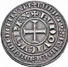 Photo numismatique  ARCHIVES VENTE 2016-19 oct ROYALES FRANCAISES LOUIS IX, Saint Louis (3 novembre 1226-24 août 1270)  354- Gros tournois (1266-1270).