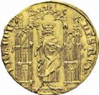 Photo numismatique  ARCHIVES VENTE 2016-19 oct ROYALES FRANCAISES PHILIPPE VI DE VALOIS(1er avril 1328-22 août 1350)  358- Royal d'or (2 mai 1328).