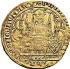 Photo numismatique  ARCHIVES VENTE 2016-19 oct ROYALES FRANCAISES PHILIPPE VI DE VALOIS(1er avril 1328-22 août 1350)  360- Ecu d'or à la chaise de la 5ème émission (11 mars 1349).