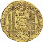 Photo numismatique  ARCHIVES VENTE 2016-19 oct ROYALES FRANCAISES PHILIPPE VI DE VALOIS(1er avril 1328-22 août 1350)  361- Lion d'or (31 octobre 1338).