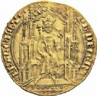 Photo numismatique  ARCHIVES VENTE 2016-19 oct ROYALES FRANCAISES PHILIPPE VI DE VALOIS(1er avril 1328-22 août 1350)  362- Double d'or de la 1ère émission (6 avril 1340).