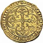 Photo numismatique  ARCHIVES VENTE 2016-19 oct ROYALES FRANCAISES PHILIPPE VI DE VALOIS(1er avril 1328-22 août 1350)  363- Ange d'or de la 2ème émission (8 août 1341).