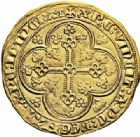 Photo numismatique  ARCHIVES VENTE 2016-19 oct ROYALES FRANCAISES ÉDOUARD III (Roi de d'Angleterre et de France 7 octobre 1327-8 mai 1360)  365- Ecu d'or à la chaise.