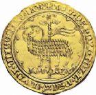 Photo numismatique  ARCHIVES VENTE 2016-19 oct ROYALES FRANCAISES JEAN II LE BON (22 août 1350-18 avril 1364)  366- Mouton d'or (17 janvier 1355). 366- Mouton d'or (17 janvier 1355).