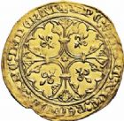 Photo numismatique  ARCHIVES VENTE 2016-19 oct ROYALES FRANCAISES JEAN II LE BON (22 août 1350-18 avril 1364)  367- Royal d'or, 2ème émission (22 août 1358).