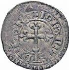 Photo numismatique  ARCHIVES VENTE 2016-19 oct ROYALES FRANCAISES JEAN II LE BON (22 août 1350-18 avril 1364)  371- Gros à la couronne, 1ère émission (22 août 1358).