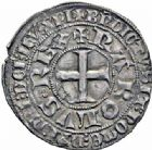 Photo numismatique  ARCHIVES VENTE 2016-19 oct ROYALES FRANCAISES CHARLES V (8 avril 1364-16 septembre 1380)  374- Gros tournois, 2ème émission (3 août 1369).