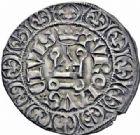 Photo numismatique  ARCHIVES VENTE 2016-19 oct ROYALES FRANCAISES CHARLES V (8 avril 1364-16 septembre 1380)  374- Gros tournois, 2ème émission (3 août 1369).