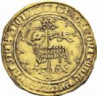 Photo numismatique  ARCHIVES VENTE 2016-19 oct ROYALES FRANCAISES CHARLES VI (16 septembre 1380-21 octobre 1422)  376- Agnel d'or de la 1ère émission (10 mai 1417), Paris.