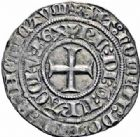 Photo numismatique  ARCHIVES VENTE 2016-19 oct ROYALES FRANCAISES CHARLES VI (16 septembre 1380-21 octobre 1422)  377- Gros aux lis sous une couronne (3 novembre 1413), Tournai.