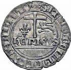 Photo numismatique  ARCHIVES VENTE 2016-19 oct ROYALES FRANCAISES HENRI VI, roi de France et d'Angleterre (31 octobre 1422–19 octobre 1453)  380- Blanc aux écus (23 novembre 1422), Paris.