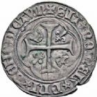 Photo numismatique  ARCHIVES VENTE 2016-19 oct ROYALES FRANCAISES CHARLES VII (30 octobre 1422-22 juillet 1461)  385- Blanc à la couronne, 4ème émission (16 juin 1455), Paris.
