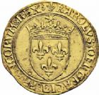 Photo numismatique  ARCHIVES VENTE 2016-19 oct ROYALES FRANCAISES CHARLES VIII (20 août 1483-7 avril 1498)  387- Ecu d'or au soleil, 2ère émission (8 juillet 1494), Paris.