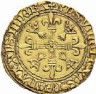 Photo numismatique  ARCHIVES VENTE 2016-19 oct ROYALES FRANCAISES CHARLES VIII (20 août 1483-7 avril 1498)  388- Ecu d'or au soleil de Bretagne, (à partir du 6 avril 1491), Nantes.
