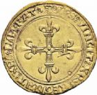 Photo numismatique  ARCHIVES VENTE 2016-19 oct ROYALES FRANCAISES LOUIS XII (8 avril 1498-31 décembre 1514)  389- Ecu d'or au soleil (25 avril 1498), Lyon.