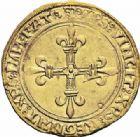 Photo numismatique  ARCHIVES VENTE 2016-19 oct ROYALES FRANCAISES LOUIS XII (8 avril 1498-31 décembre 1514)  389- Ecu d'or au soleil (25 avril 1498), Lyon. 389- Ecu d'or au soleil (25 avril 1498), Lyon.