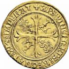 Photo numismatique  ARCHIVES VENTE 2016-19 oct ROYALES FRANCAISES LOUIS XII (8 avril 1498-31 décembre 1514)  390- Ecu d'or au porc-épic (19 novembre 1507), Montpellier.