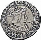 Photo numismatique  ARCHIVES VENTE 2016-19 oct ROYALES FRANCAISES FRANCOIS I (1er janvier 1515–31 mars 1547)  396- Teston du 14ème type, Lyon.