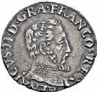 Photo numismatique  ARCHIVES VENTE 2016-19 oct ROYALES FRANCAISES CHARLES IX (5 décembre 1560-30 mai 1574) Monnayage au type de Henri II 401- 1/2 teston du 2ème type, Toulouse 1561.