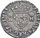 Photo numismatique  ARCHIVES VENTE 2016-19 oct ROYALES FRANCAISES CHARLES IX (5 décembre 1560-30 mai 1574) Monnayage au type de Henri II 401- 1/2 teston du 2ème type, Toulouse 1561.