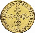 Photo numismatique  ARCHIVES VENTE 2016-19 oct ROYALES FRANCAISES CHARLES IX (5 décembre 1560-30 mai 1574) Monnayage au nom de Charles IX 402- Ecu d'or au soleil, Paris 1566.