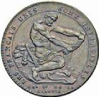 Photo numismatique  ARCHIVES VENTE 2016-19 oct MODERNES FRANÇAISES MONNAIES DE CONFIANCE (1791-1793)  494- Monneron d'un sol à l'Hercule et Monneron de cinq sols, 1792, an 4.