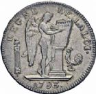 Photo numismatique  ARCHIVES VENTE 2016-19 oct MODERNES FRANÇAISES LA CONVENTION (22 septembre 1792 - 26 octobre 1795)  500 - Ecu de six livres, Paris 1793 an II.