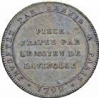 Photo numismatique  ARCHIVES VENTE 2016-19 oct MODERNES FRANÇAISES LA CONVENTION (22 septembre 1792 - 26 octobre 1795)  505- Essai de Brézin, Paris, 1792.
