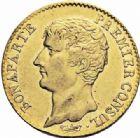 Photo numismatique  ARCHIVES VENTE 2016-19 oct MODERNES FRANÇAISES LE CONSULAT (à partir du 24 décembre 1799-18 mai 1804)  509- 20 francs or, Paris an 12.