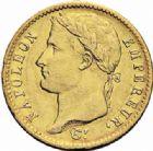 Photo numismatique  ARCHIVES VENTE 2016-19 oct MODERNES FRANÇAISES NAPOLEON Ier, empereur (18 mai 1804- 6 avril 1814)  513- 20 francs or, Utrecht 1813.