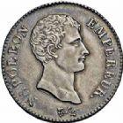 Photo numismatique  ARCHIVES VENTE 2016-19 oct MODERNES FRANÇAISES NAPOLEON Ier, empereur (18 mai 1804- 6 avril 1814)  516- 2 francs, Paris an 12.
