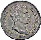 Photo numismatique  ARCHIVES VENTE 2016-19 oct MODERNES FRANÇAISES NAPOLEON Ier, empereur (18 mai 1804- 6 avril 1814)  518- 1 franc, Paris an 13.