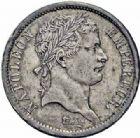Photo numismatique  ARCHIVES VENTE 2016-19 oct MODERNES FRANÇAISES NAPOLEON Ier, empereur (18 mai 1804- 6 avril 1814)  519- 2 francs, Rouen 1808.
