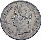 Photo numismatique  ARCHIVES VENTE 2016-19 oct MODERNES FRANÇAISES CHARLES X (16 septembre 1824-2 août 1830)  531- 5 francs, Lille 1830.