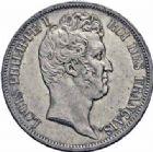 Photo numismatique  ARCHIVES VENTE 2016-19 oct MODERNES FRANÇAISES LOUIS-PHILIPPE Ier (9 août 1830-24 février 1848)  536- 5 francs, avec le I, Paris 1830.